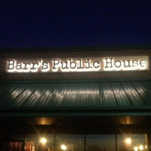 Barrs Public House FoodieCards