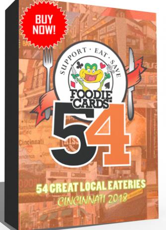 Buy FoodieCards Cincy 2018