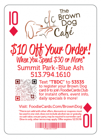 Brown-Dog Cafe-Blue Ash