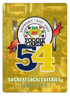FoodieCards Toledo 2018