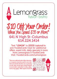 Lemongrass Foodiecards
