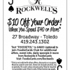 Rockwells FoodieCards