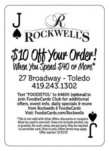 Rockwells FoodieCards