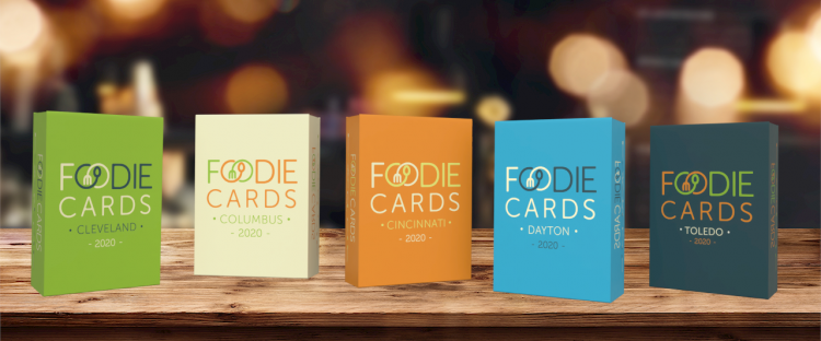FoodieCards 2020 for Fundraising